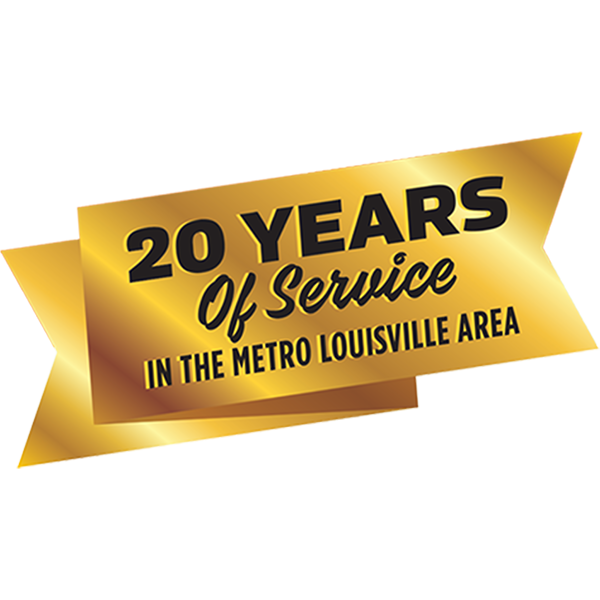 20 years of service to the Louisville area