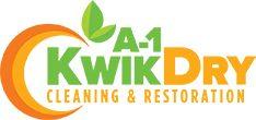 A-1 Kwik Dry Cleaning & Restoration Logo