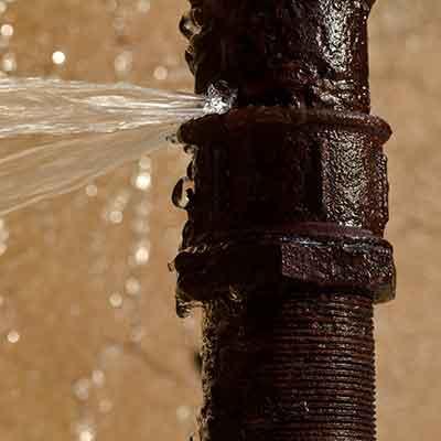 pipe break water damage Louisville ky
